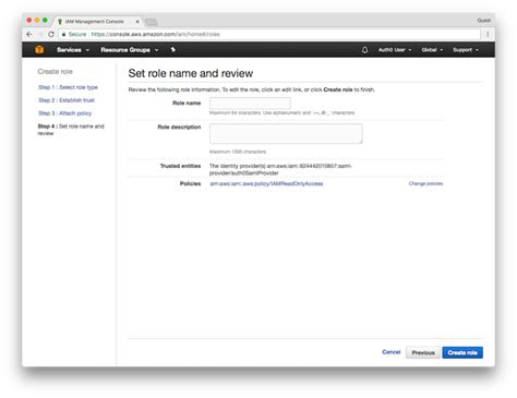 aws console access enable sso to the aws console