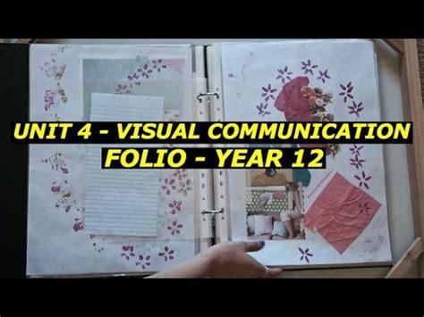 visual communication design nca unit 4 visual communication folio youtube