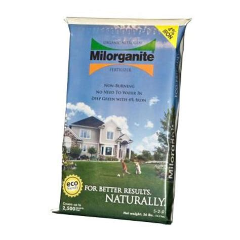 36 lb organic nitrogen fertilizer