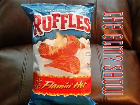 hot chips usa gtm ruffles flamin hot potato chips youtube