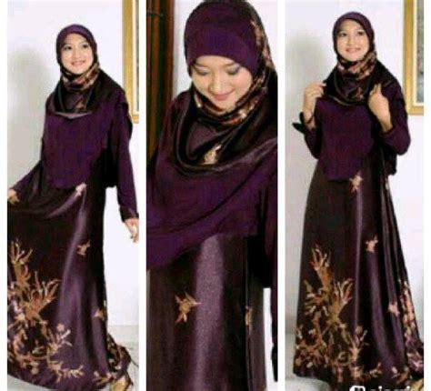 desain gamis sutra 3 desain baju pesta muslim berbahan sutra terbaik pusat