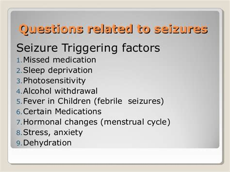 How Common Are Seizures During Detox by Eeg History Taking By Murtaza