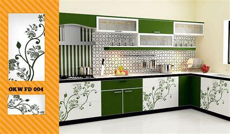 Floral Kitchen Decor by Kitchen Decor World Modular Kitchen Baskets Wardrobes