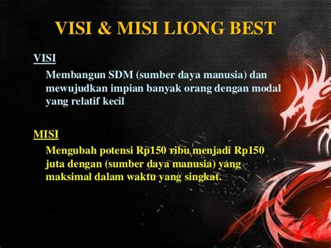 Teh Liong Tea liong best presentation by liongbest net