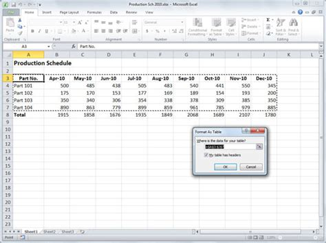 Change Table Style In Excel How To Change Heading In Excel 2010 Change Excel 2010 Columns To Numbers Or Back Letters