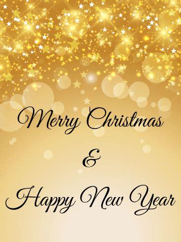 shining stars christmas tree card birthday greeting cards  davia