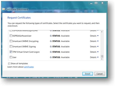 smart card user certificate template get started with smart cards walkthrough guide