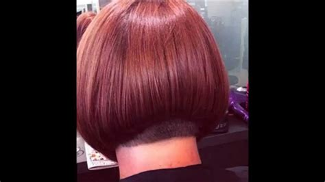 buzzed nape bob makeover hair makeover shoulder length to buzzed nape bob haircut