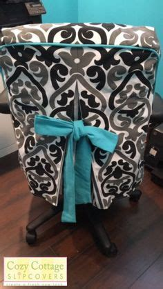 Office Chair Cover Ideas 1000 Ideas About Chair Slipcovers On