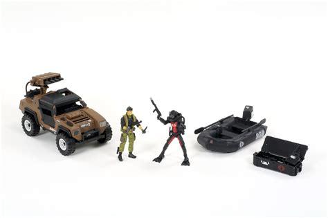 Hasbro Gi Joe 50th Anniversary Battle Below Zero Vehicle Pack fair 2014 g i joe continues the fight against cobra as a toys r us exclusive