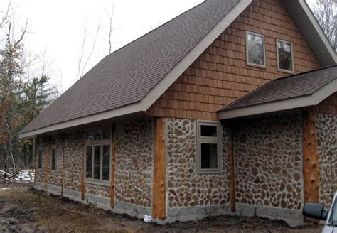 builder hoping cordwood home design catches on minnesota