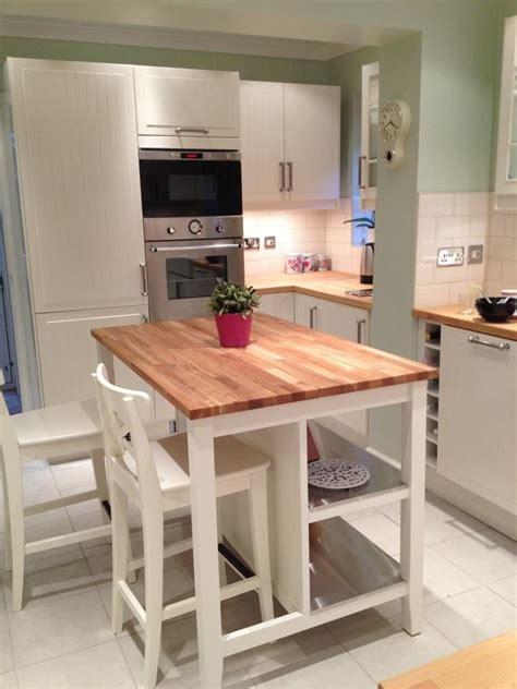butcher block island perfect   stools  seating   sides ikea kitchen island