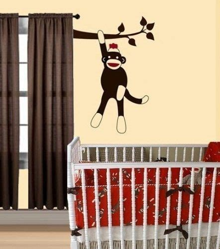 Monkey Curtains Nursery 17 Best Ideas About Sock Monkey Nursery On Pinterest Monkey Nursery Monkey Room And Sock