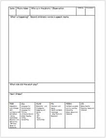 eyfs observation sheets free early years amp primary