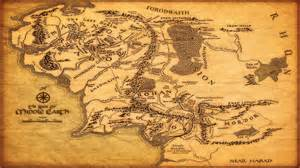 entire middle earth map middle earth map wallpapers wallpaper cave