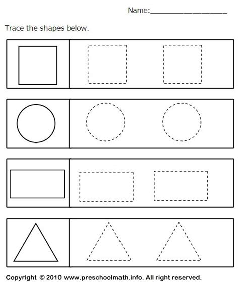 printable toddler shapes best 25 shapes worksheets ideas on pinterest shapes