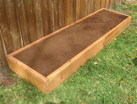 cedar raised bed 2x8 cedar raised garden bed