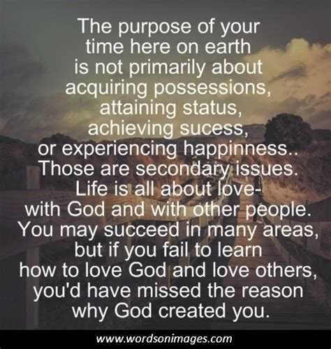 purpose  life quotes quotesgram