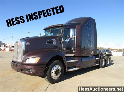 trailers kenworth for sale used 2011 kenworth t660 tandem axle sleeper for sale in pa