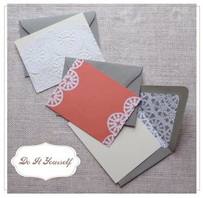 Wedding Invitations Using Doilies by Doilies In Your Wedding Details