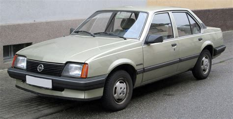 opel ascona 1985 opel ascona photos informations articles
