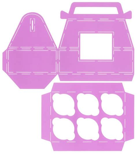 cupcake box template 1000 ideas about cupcake template on felt