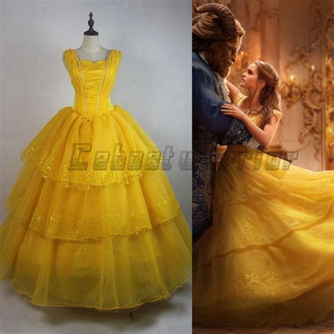 emma s belle s yellow gown from beauty and the beast a 2017 new movie beauty and the beast princess belle emma