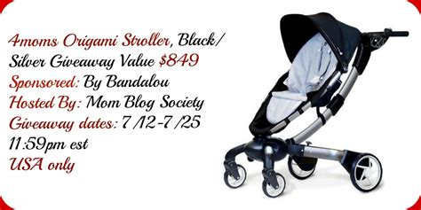 4mom Origami Stroller Review - 4moms origami stroller giveaway