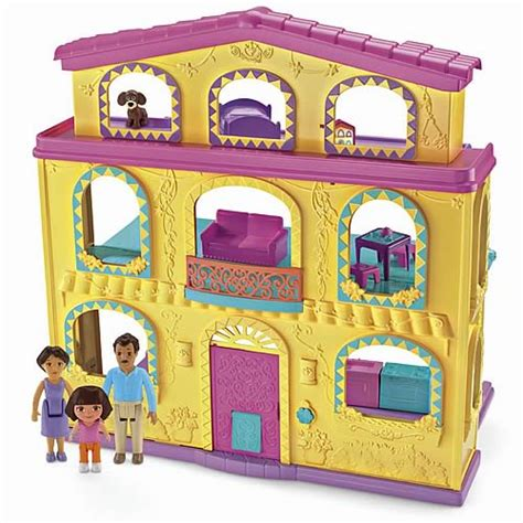 doll house play set dora the explorer dollhouse playset fisher price dora the explorer playsets at