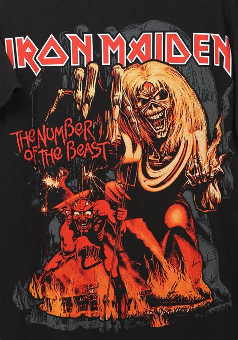 Of The Maiden number of the beast iron maiden t shirt