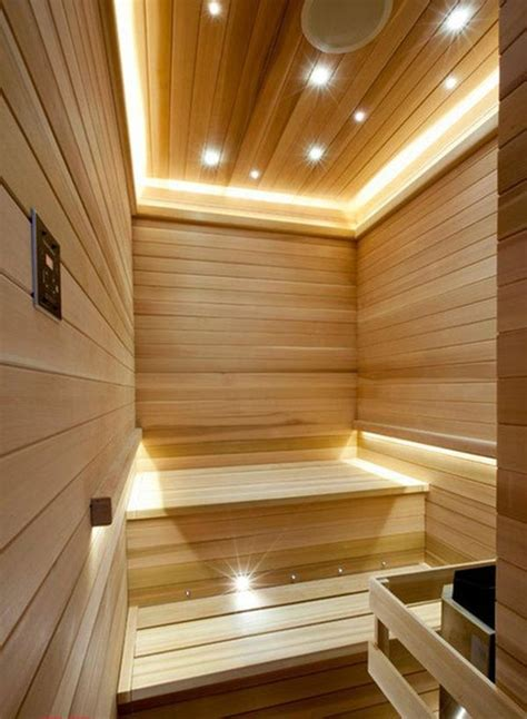 sauna bathroom a bit of luxury 35 stylish steam rooms for homes digsdigs