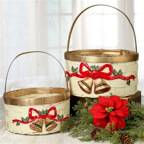 wicker christmas decor ivory wicker baskets baskets buckets boxes home decor