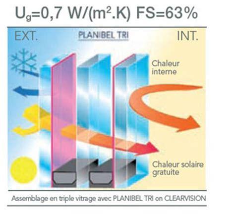 coefficient thermique vitrage b 226 timent brique coefficient isolation thermique vitrage