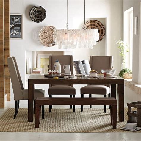 west elm carroll bench really like this table set carroll farm dining table