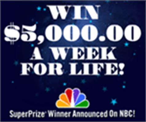 Pch Win 5000 A Week For Life - win 5 000 a week for life publishers clearing house related links freecatcher com