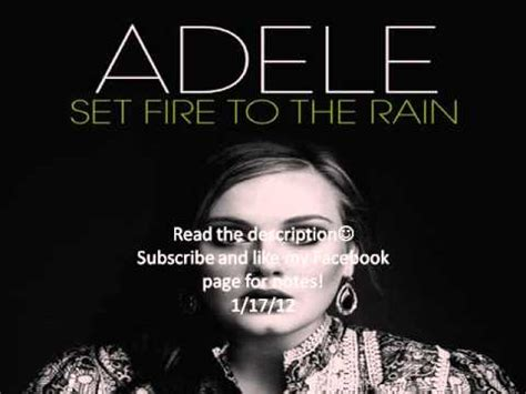 download mp3 adele set fire to the rain reggae version adele set fire to the rain notes for flute