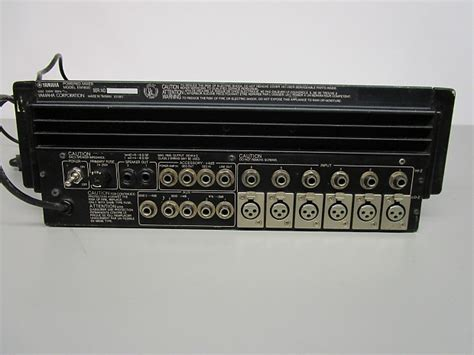 Power Mixer Yamaha 6 Chanel yamaha em1600 powered 6 channel mixer with built in reverb