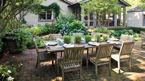 southern backyard entertaining outdoor spaces southern living