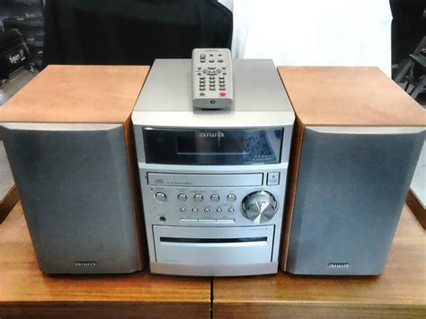 mini stereo system with cassette player aiwa mini stereo system in taunton somerset gumtree