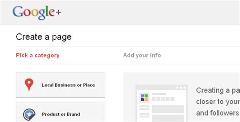 design google plus page how to create a google page