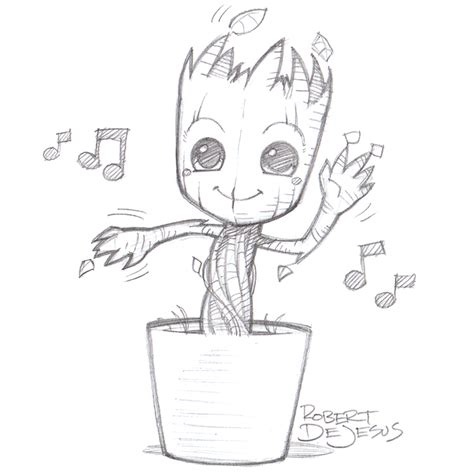 coloring page baby groot groot coloring pages coloring pages