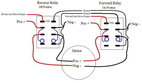 forward switch wiring diagram relay 3 phase motor