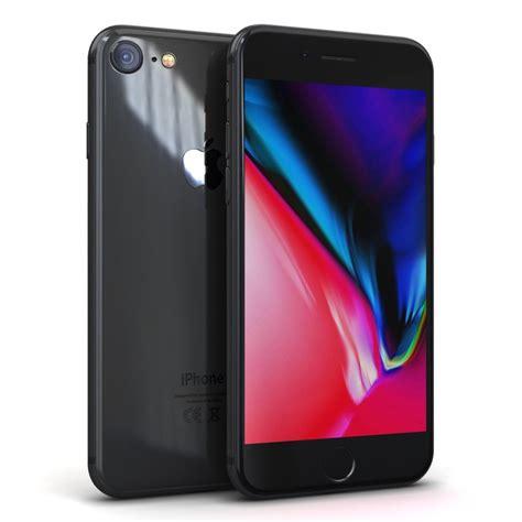 3 iphone models apple iphone 8 space 3d model turbosquid 1216770