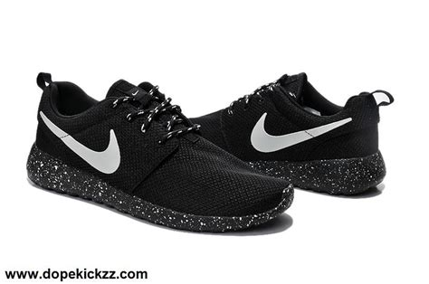 nike roshe running shoes mens nike roshe run running shoes for black white