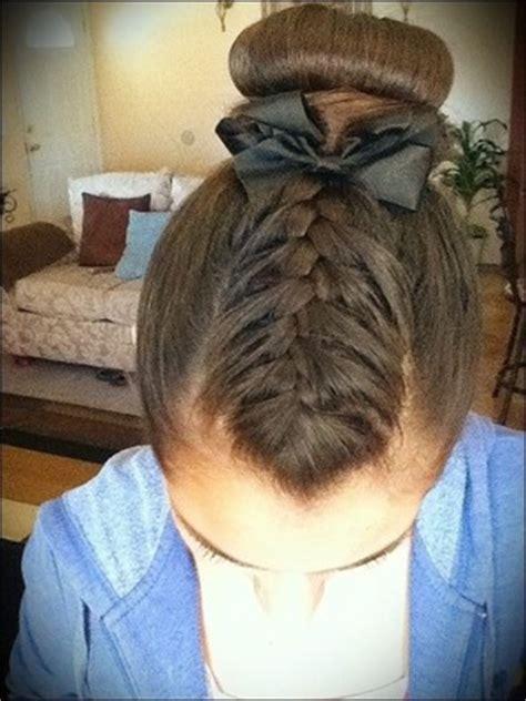 easy gymnastic hair styles cute sports hairstyles beautylish