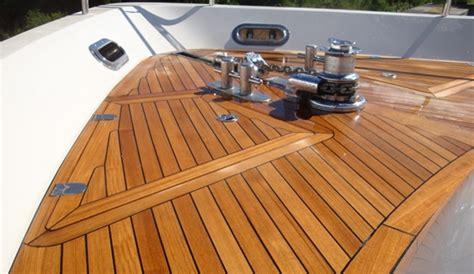 exterior marine wood finishes part  oils sealers