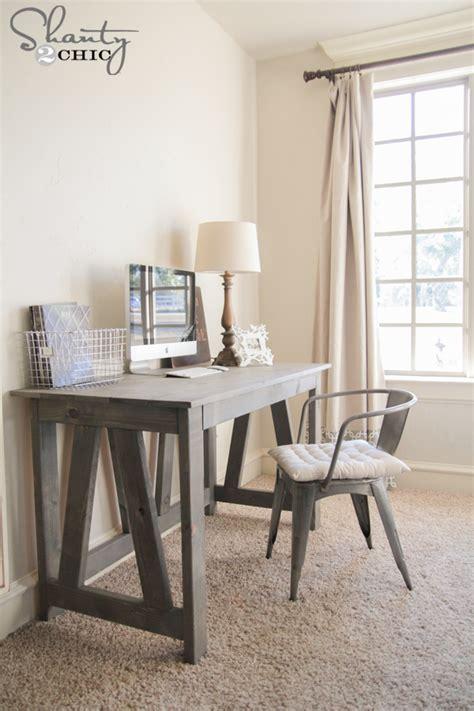 simple desk plans home offices built love
