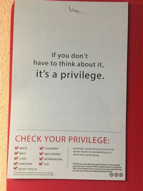 check your did you check your privilege the siskiyou