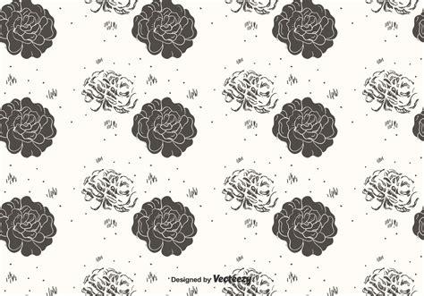 hand drawn flower pattern hand drawn flower pattern vector download free vector