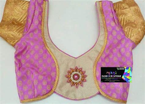 simple neck design pattern simple blouse designs for cotton sarees best blouse 2017